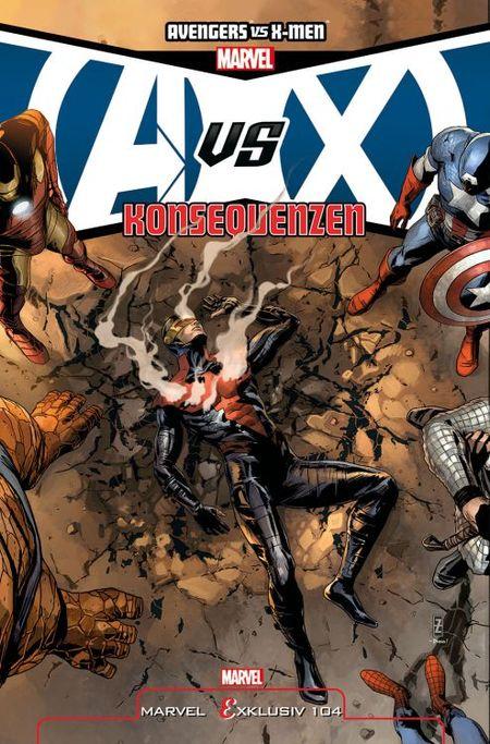 Marvel Exklusiv 104: Avengers vs. X-Men Konsequenzen - Das Cover