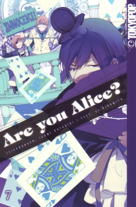 Are you Alice? 7 - Das Cover