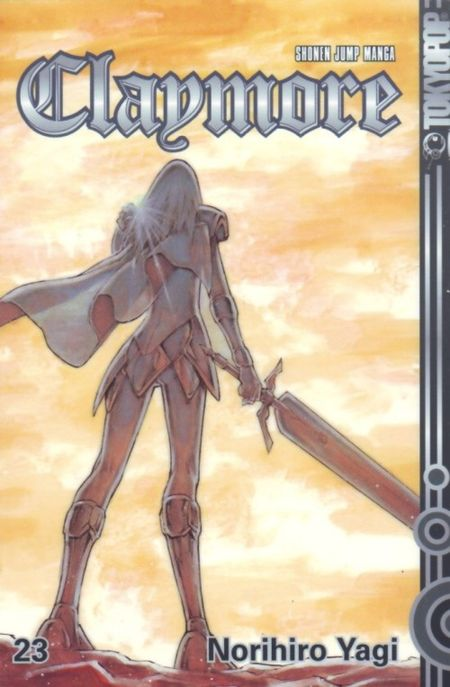Claymore 23 - Das Cover
