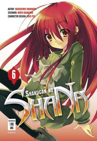 Shakugan no ShaNa 6 - Das Cover