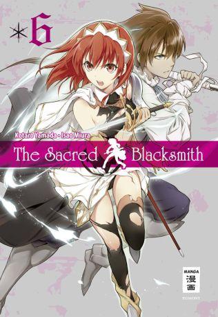 The sacred Blacksmith 6 - Das Cover