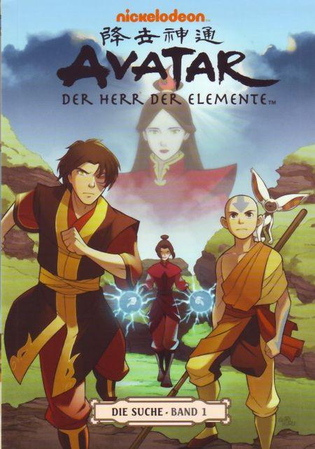 Avatar: Der Herr der Elemente Band 5: Die Suche 1 - Das Cover