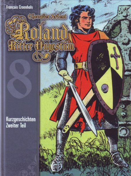 Roland Ritter Ungestüm 8 - Das Cover