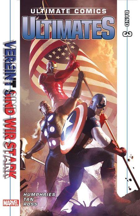 Ultimate Comics: Ultimates 3:  Vereint sind wir stark - Das Cover