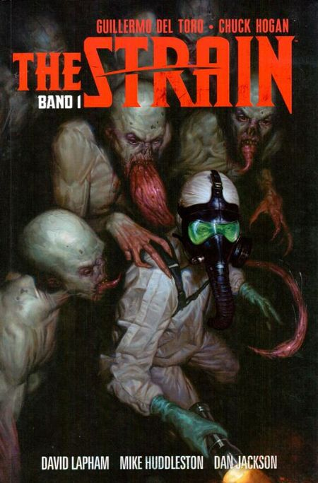 The Strain 1 - Das Cover