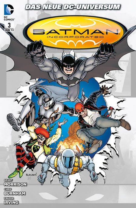 Batman Incorporated 3 - Das Cover