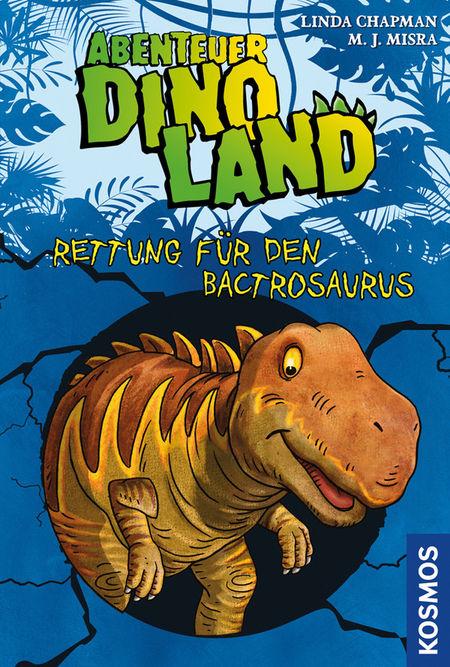 Abenteuer Dinoland - Rettung für den Bactrosaurus - Das Cover