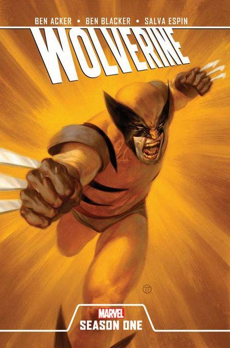Wolverine Season One - Das Cover