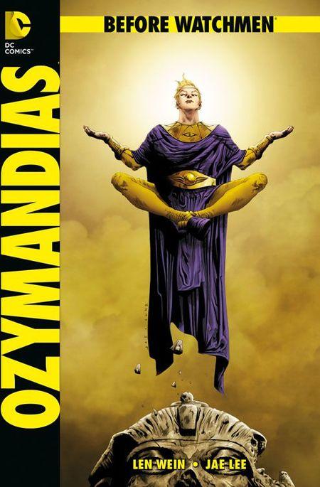 Before Watchmen: Ozymandias SC - Das Cover