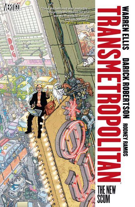 Transmetropolitan 2 - Das Cover