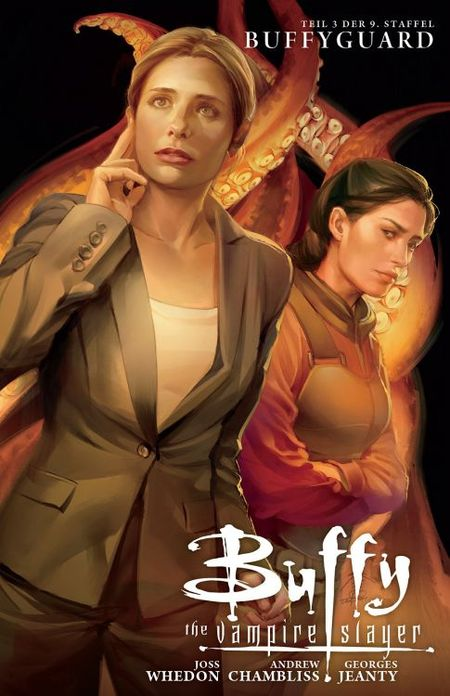 Buffy The Vampire Slayer 9. Staffel 3: Buffyguard  - Das Cover