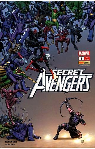 Secret Avengers 7 - Das Cover