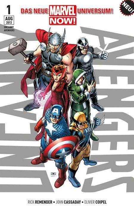 Uncanny Avengers 1 - Das Cover