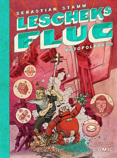 Lescheks Flug - Das Cover