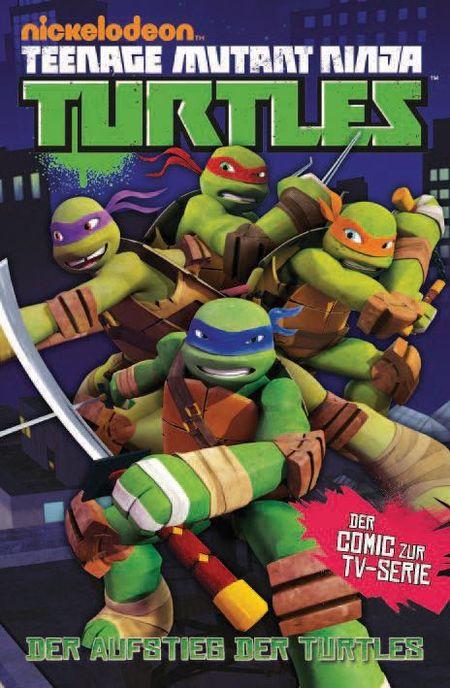 Teenage Mutant Ninja Turtles TV-Comic 1: Der Aufstieg der Turtles - Das Cover