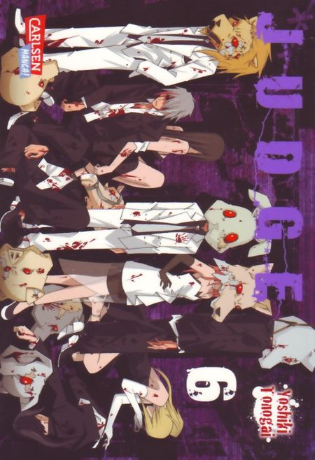 Judge 6 - Das Cover