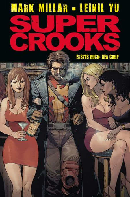 Supercrooks - Das Cover