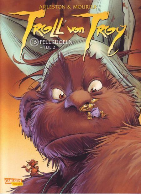 Troll von Troy 16: Fellkugeln - Teil 2 - Das Cover