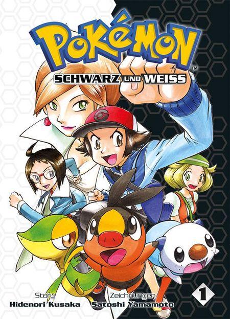 Pokémon SCHWARZ und WEISS 1 - Das Cover