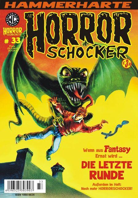Horrorschocker 33 - Das Cover