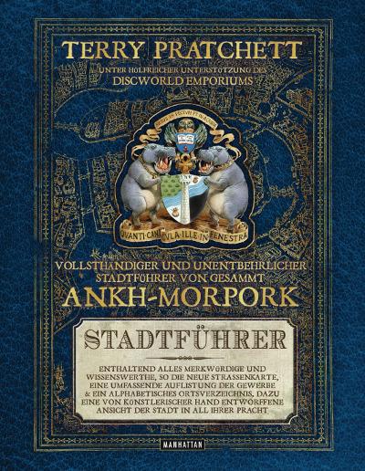 Vollsthändiger und unentbehrlicher Stadtführer von gesammt Ankh-Morpork - Das Cover