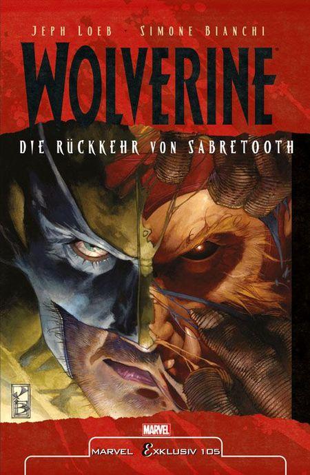 Marvel Exklusiv 105: Die Rückkehr von Sabretooth - Das Cover