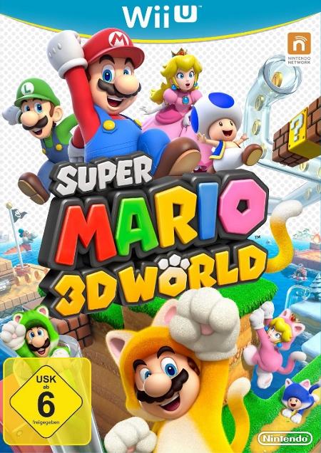 Super Mario 3D World - Der Packshot