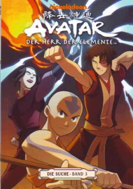 Avatar: Der Herr der Elemente Band 7: Die Suche 3 - Das Cover