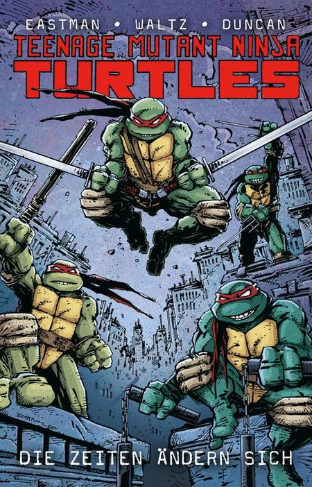 Teenage Mutant Ninja Turtles: Die Zeiten ändern sich - Das Cover