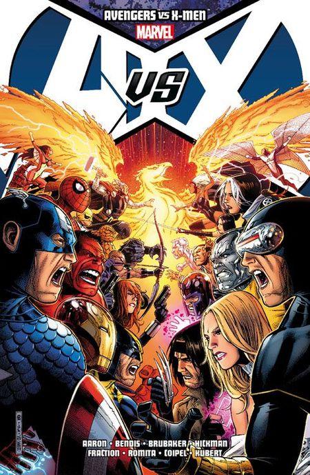 Avengers vs. X-Men Paperback SC - Das Cover