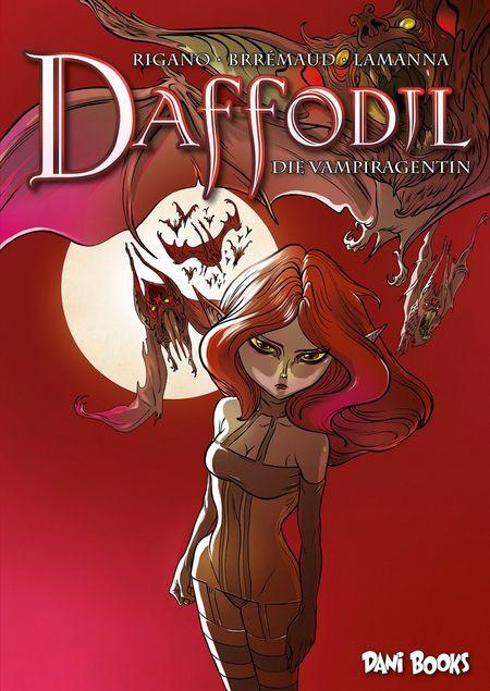 Daffodil - Die Vampiragentin - Das Cover