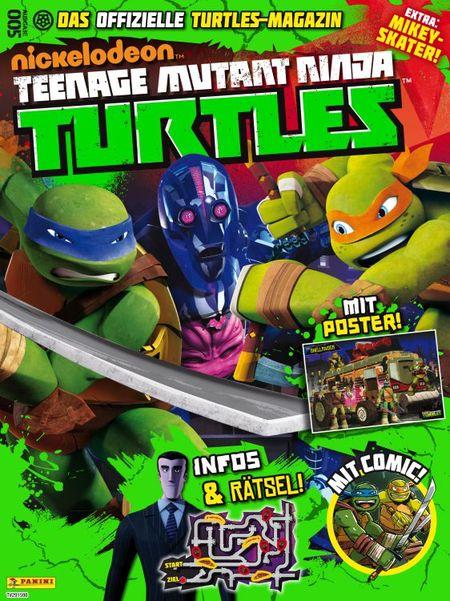 TV-Comic-Nickelodeon: Teenage Mutant Ninja Turtles Magazin 5 - Das Cover