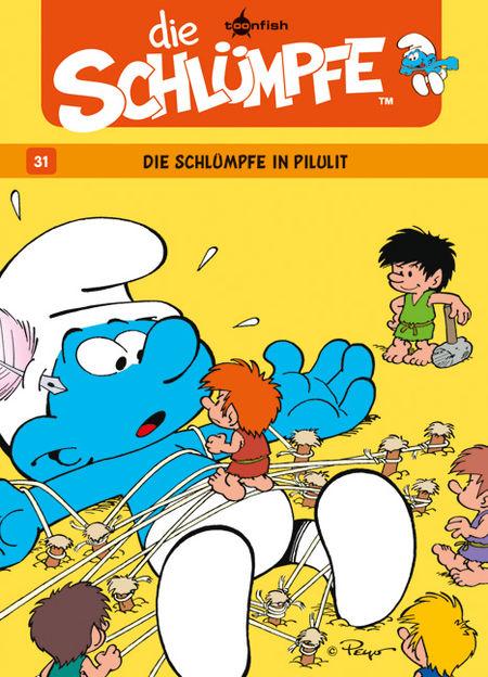 Die Schlümpfe 31: Die Schlümpfe in Pilulit - Das Cover