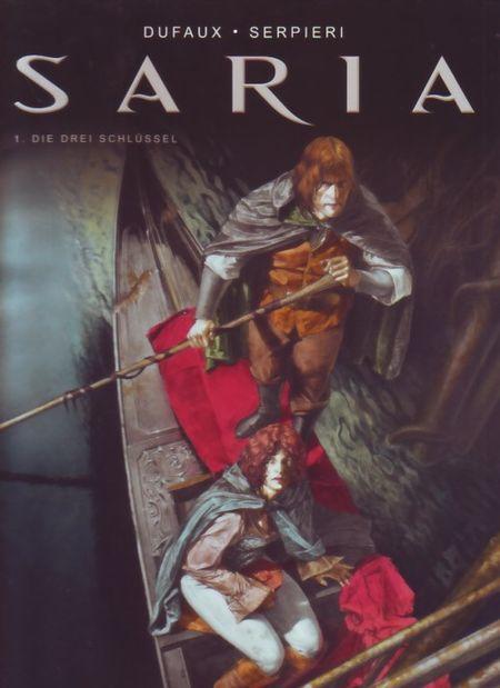 Saria 1: Die drei Schlüssel - Das Cover