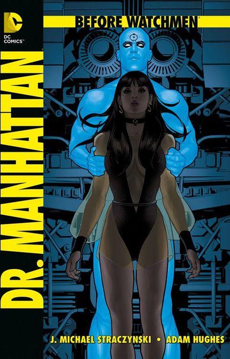 Before Watchmen: Dr. Manhattan SC - Das Cover