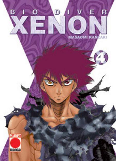 Bio Diver Xenon 4 - Das Cover