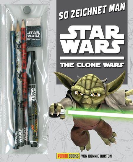 So zeichnet man Star Wars The Clone Wars - Das Cover