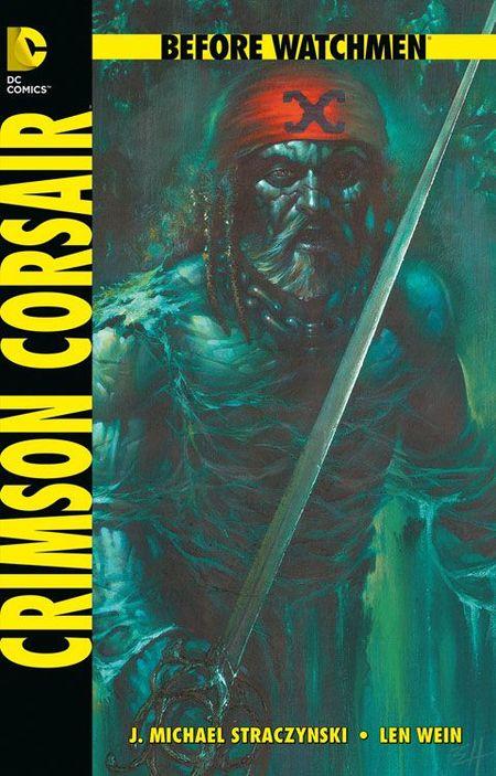 Before Watchmen: Crimson Corsair SC - Das Cover
