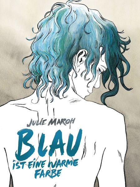 Blau ist eine warme Farbe - Das Cover