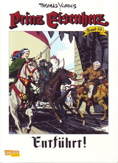 Prinz Eisenherz 88: Entführt! - Das Cover