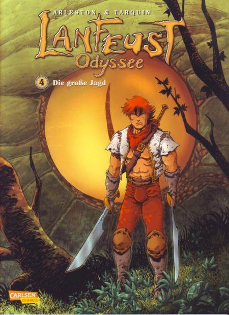 Lanfeust Odyssee 4: Die große Jagd - Das Cover