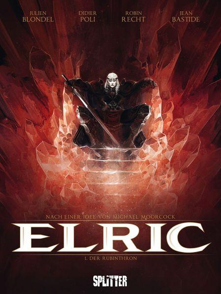 Elric 1 - Der Rubinthron - Das Cover