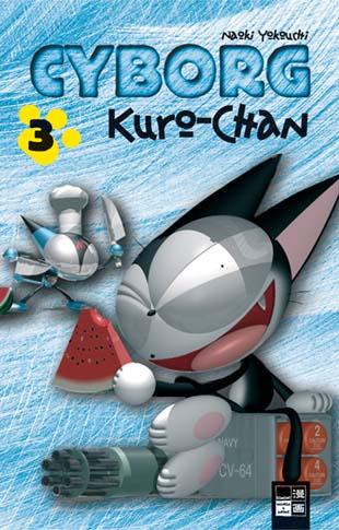 Cyborg Kuro-chan 3 - Das Cover
