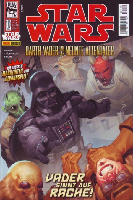 Star Wars 110: Darth Vader und der neunte Attentäter II - Das Cover