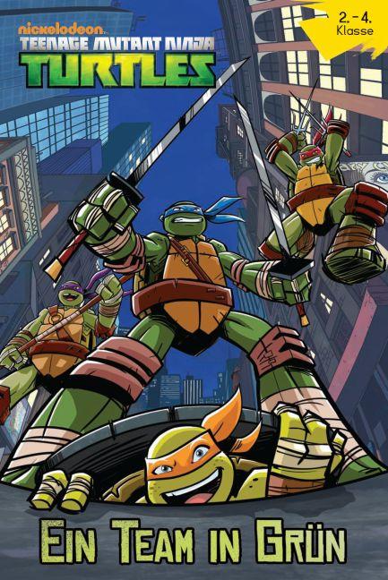 Teenage Mutant Ninja Turtles: Ein Team in grün - Das Cover