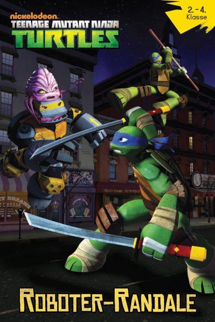 Teenage Mutant Ninja Turtles: Roboter-Randale - Das Cover