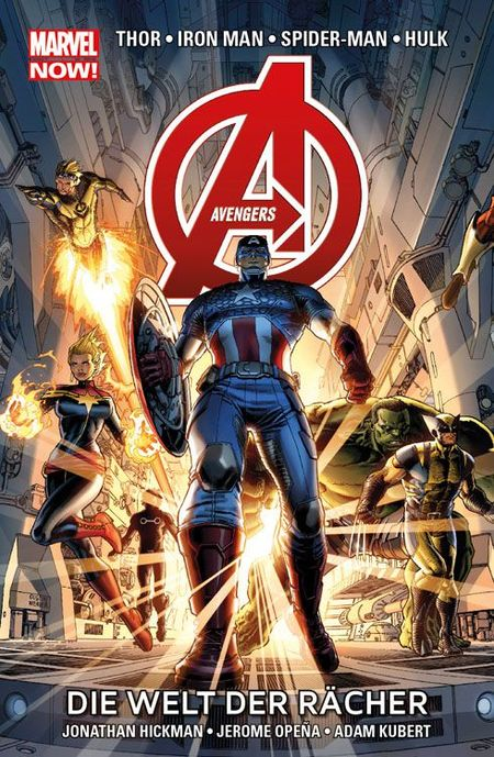 Marvel Now! Paperback: Avengers 1 SC - Das Cover