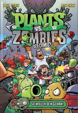Plants vs. Zombies 1: Sie wollen dein Gehirn - Das Cover