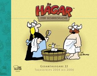 Hägar der Schreckliche - Gesamtausgabe 22 - Tagesstrips 2004 bis 2006 - Das Cover
