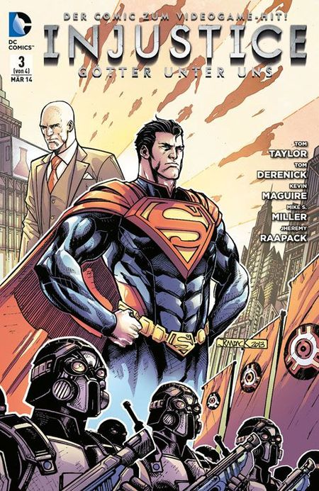 Injustice: Götter unter Uns 3 - Das Cover